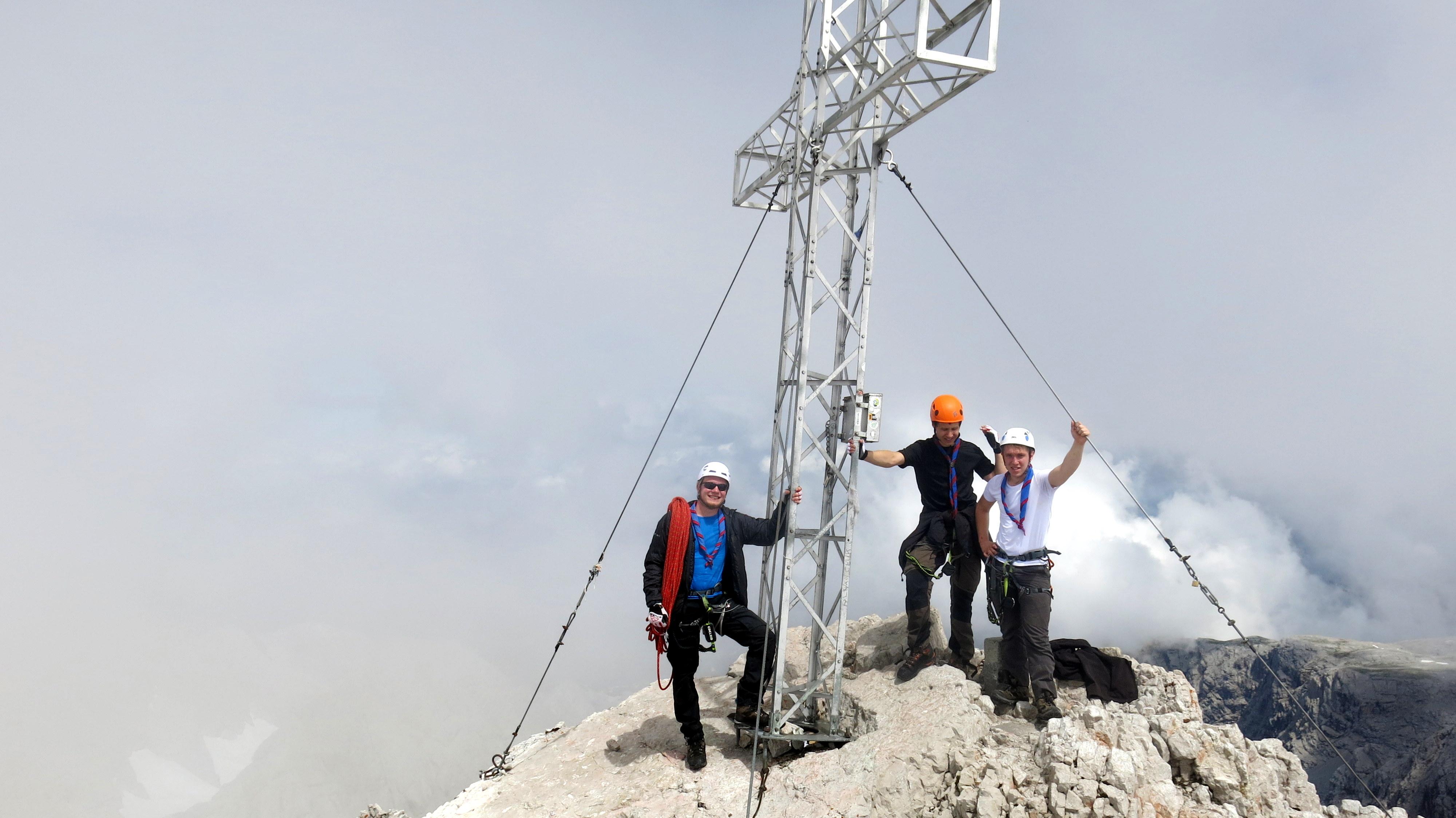 Warum Pfadfinder? Bei uns gibt es immer etwas zu erleben. Das kann auch mal ein hoher Gipfel sein den man zusammen erklimmt.